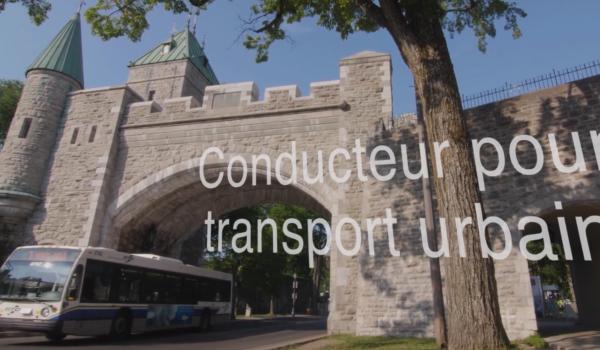 Conducteur pour transport urbain
