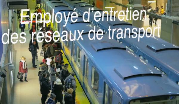 Employé d'entretien des réseaux de transport