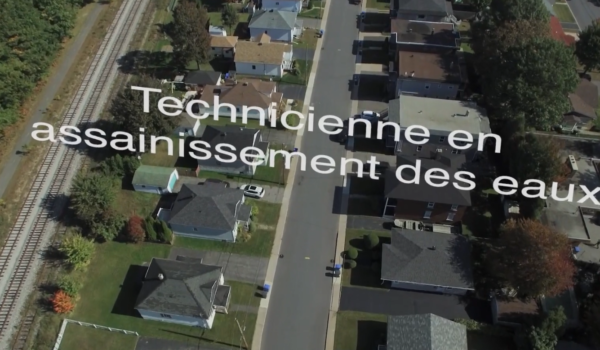 Technicienne en assainissement des eaux