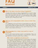 FAQ Relativity, No 2, March 26, 2019