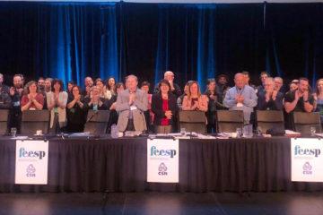 Équipe FEESP lors du conseil fédéral 2019