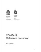 COVID-19 Reference document CSN