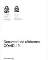 Document de référence COVID-19 de la CSN