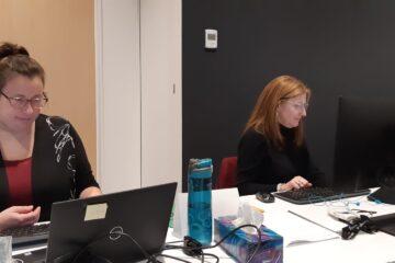 Audrey Laprise et Manon Roberge CF 2020