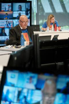 Jean-Pierre Bourgault, vice-président-trésorier, et Stéphanie Gratton, vice-présidente