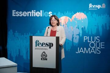 Allocution d'ouverture de Nathalie Arguin, présidente de la FEESP