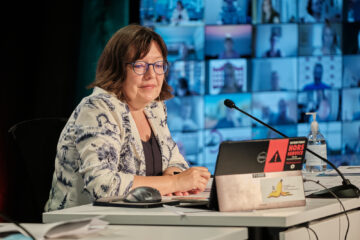 Nathalie Arguin, présidente de la FEESP