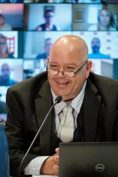 Jean-Pierre Bourgault, vice-président-trésorier
