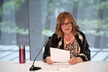 Carmelina Santoro, présidente du Comité de formation et vie syndicale