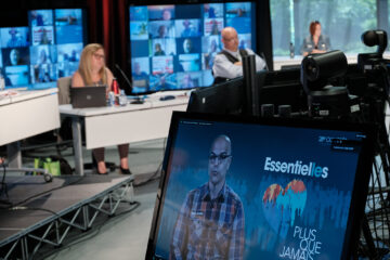 Présentation des capsules vidéo des rapports des présidences de secteurs