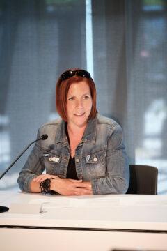 Amélie Benoit, présidente du Comité de la condition féminine