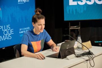 Dominique Montpetit, coordonnatrice de la FEESP