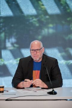 Mario Guertin, conseiller syndical et président d'élection