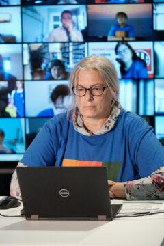 Solange Laurin, secrétaire-comptable