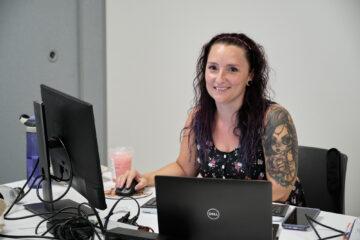 Isabelle Cauchon, employée de bureau