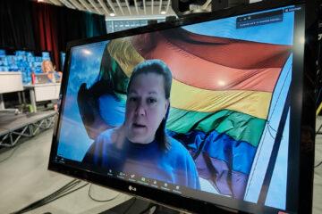 Gabrielle Messier, membre de la Table contre l'homophobie et la transphobie en éducation