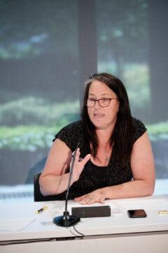 Karine Lavoie, conseillère syndicale et membre du Comité synthèse des ateliers