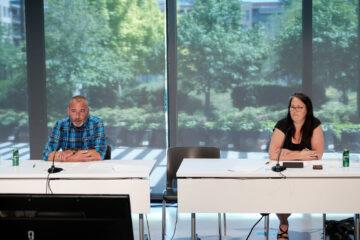 Sylvain Rochon et Karine Lavoie, membres du Comité synthèse des ateliers