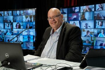 Jean-Pierre Bourgault, vice-président-trésorier FEESP