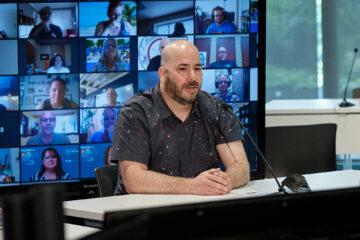 Simon Mathieu Malenfant, nouveau vice-président-trésorier de la FEESP