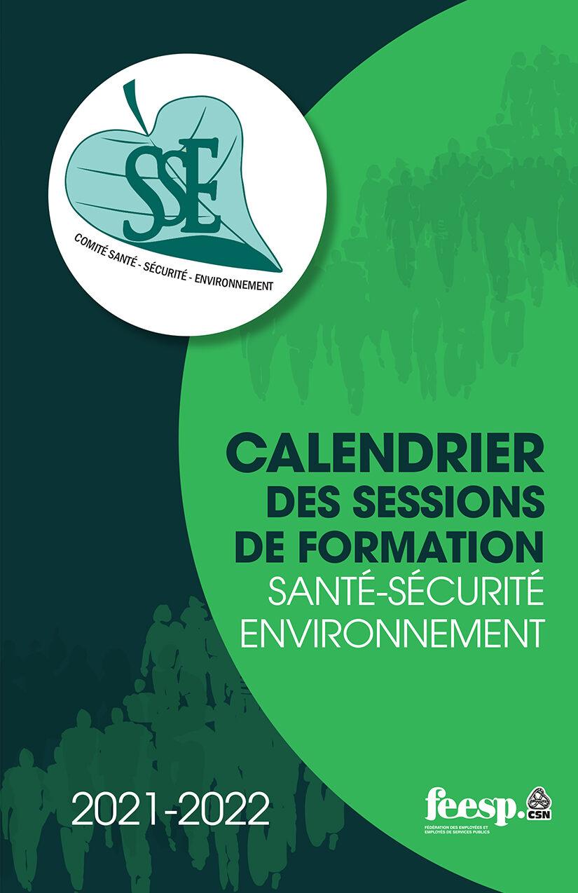 Calendrier des formations en santé-sécurité-environnement 2021-2022